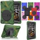 For Amazon Kindle Fire HD 8 2017 7th Gen Hybrid Shockproof Stand Hard Case Cover