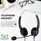 Office Desk Telephone Corded Headset Business Call Center Phone Dial Key Pad