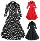 50s attire for women - US Retro Style Women Vintage 50's Rockabilly Dress Housewife Evening Party Dress