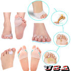 Silicone Corrector Relief Gel Toe Separator Hammer Toe w/ Forefoot...