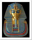 Ancient Gold Mask Of The Egyptian Pharaoh Art Print Home Decor Wall Art