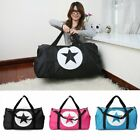 large sports bag - US Waterproof Travel Women Nylon Large Star Sports Gym Duffle Tote Handbag Bags