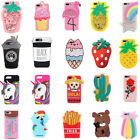 Cartoon Unicorn Silicone Soft Dropproof Kid Cover Case Skin For iPhone 7 8 8Plus