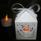 24 x TEALIGHT CANDLE LANTERNS HOLDERS LED TEA LIGHT WEDDING PARTY DECORATION