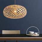Modern Wooden Birdcage Ceiling Light Pendant Lamp Fixture Chandelier Lighting
