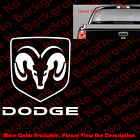 DODGE Logo Car Truck Window Die Cut Vinyl Decal/Sticker Ram Mopar Charger RC051 $2.5 USD on eBay