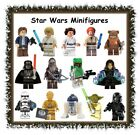 Star Wars character minifigures minifigs -CHOOSE STYLE- LEGO compatible block $4.99 AUD