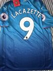 ARSENAL LACAZETTE OFFICIAL AWAY  jersey SIZE S, M, L or XL