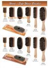 HARD OR SOFT SINGLE WOOD BRUSH BOAR & PLASTIC BRISTLES BY MAGIC COLLECTION !!