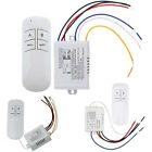Wireless 1/2/3/way ON/OFF Lamp Way Remote Control Switch Receiver Transmitter