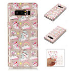 For Samsung Galaxy Note 8/S8/S7 Phone Case Cute Pattern Slim Soft Silicone Cover