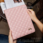 Luxury Bowknot Leather Smart Case Stand Cover for iPad 2 3 4 mini1/2/3 Air 9.7
