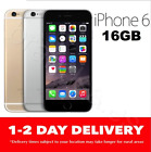 iPHONE 6 16GB LTE 4G GSM GREY GOLD SILVER  100% UNLOCKED
