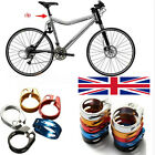 31.8mm/34.9mm Mountain Bike Road Cycling Seat Alloy Seat Post Clamp UK
