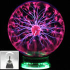 "3/4/5/6/8"" Magic Plasma Ball Sphere Lightning Crystal Globe Touch Nebula Light"