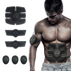 Muscle Training Body Six pack Set ABS Electrical Muscle Simulation Effect image