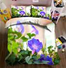 Cute Morning Glory 3D Printing Duvet Quilt Doona Covers Pillow Case Bedding Sets