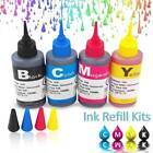 100ml Universal Color Ink Cartridge Refill Kit for HP & Canon Series Printers TA