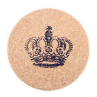 Cork Wood Drink Coaster Tea Coffee Cup Mat Pad Kitchen Table Decor Placemat