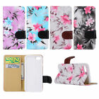 Classic PU Wallet Stand Case Cover For IPhone 6 7Plus Flower Flip Leather O0115