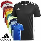 Adidas T Shirt Mens Entrada 18 Climalite Short Sleeve Top Football Size S M L XL image