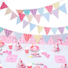 Wedding Birthday Party Flag Bunting Pennant Banner Home Club Decorate 2.5m $7.99 USD