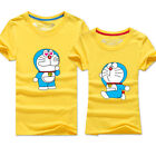 New outdoor Lover sports team travel t-shirt student couples clothes Doraemon