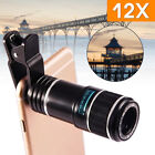 12x Optical Telephoto Zoom Camera Telescope Lens For iPhone Samsung Mobile Phone