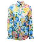 D5186 camicia donna RALPH LAUREN multicolor shirt woman
