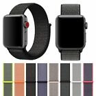 Woven Nylon Sport Loop iWatch strap Band Bracelet For Apple Watch Series 3 2 1