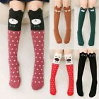 10Colors Girls Cute 3D Cartoon Animals Thigh Stockings Over Knee High Long Socks