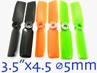 "4pairs 3.5""x4.5 3545 Propeller ⌀5mm Hole For Quadcopter Multicopter US SELL/SHIP"