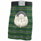 Mens Kilt Tartanista Deluxe IrishTartan 16oz 8 Yard  30 - 54