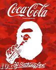 Bape x Coca Cola Poster or Art Print (a bathing ape)