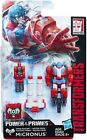 Transformers Generations Power of Primes Prime Masters Metalhawk,Maximo,Micronus