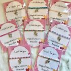 Magical Mythical Unicorn Bracelet ~ Great Gift idea ~ Beaded stretch with Charm