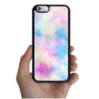 iPhone X 8 8 Plus 7 7 Plus 6 6s SE 5s 5C 5 4s 4 Pink Blue Watercolor Splash Case