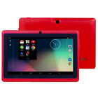 7'' inch Quad Core HD Tablet for Kids Android 4.4 Kitkat Dual Camera WiFi Child