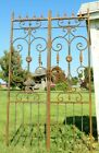 Strong Heavy French Wrought Iron Double Sided Entry Gate