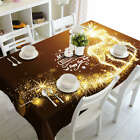 Lightning Flash 3D Tablecloth Table cover Cloth Rectangle Wedding Party Banquet