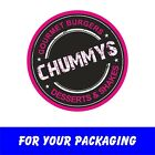 Custom Printed Round Stickers, with your Logo or Address or personalised Info