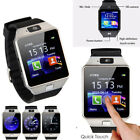 LATEST DZ09 Bluetooth Smart Watch Camera SIM Slot For HTC Samsung Android Phone