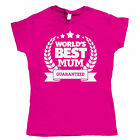 Worlds Best Mum, Womens Mothers Day T Shirt
