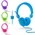 Urbanz Neon Kids Headphones | Colourful On Ear Earphones with Volume Control