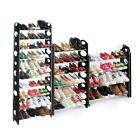 Round-Shaped Free Standing 10 Tier Shoe Tower Rack Organizer Space USA