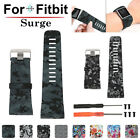 Silicone Strap Bracelet Replacement Sport Wrist Band Tool Kit For Fitbit Surge