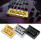 4-string Fixed Guitar Bridge w/ Screws&Wrench for Cigarbox Electric Guitar Bass