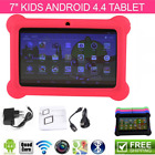 """7"""" IN ANDROID 4.4 KIDS TABLET PC QUAD CORE WIFI Camera Kitoch CHILD CHILDREN LOT"""
