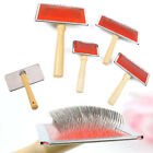 New Pet Puppy Dog Cat Hair Shedding Grooming Trimmer Fur Comb Brush Slicker S-XL