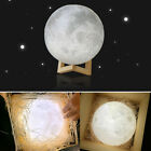 3d led light - Moon Lamp 3D Printing USB LED Moonlight Luna Night Light Dimmable Touch Sensor